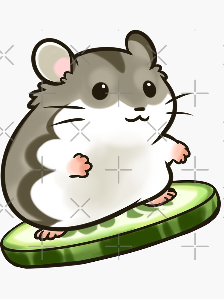 Agouti Djungarian Hamster by pawlove