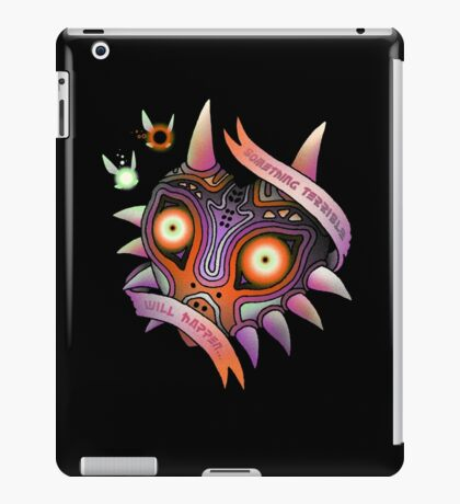 TERRIBLE MASK iPad Case/Skin