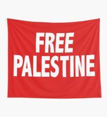 Free Palestine Wall Tapestry