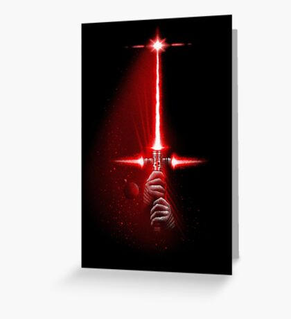 TRISABER Greeting Card