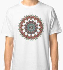 Mandala Christmas Pug Classic T-Shirt