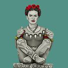 Frida's Flowers by mjviajes