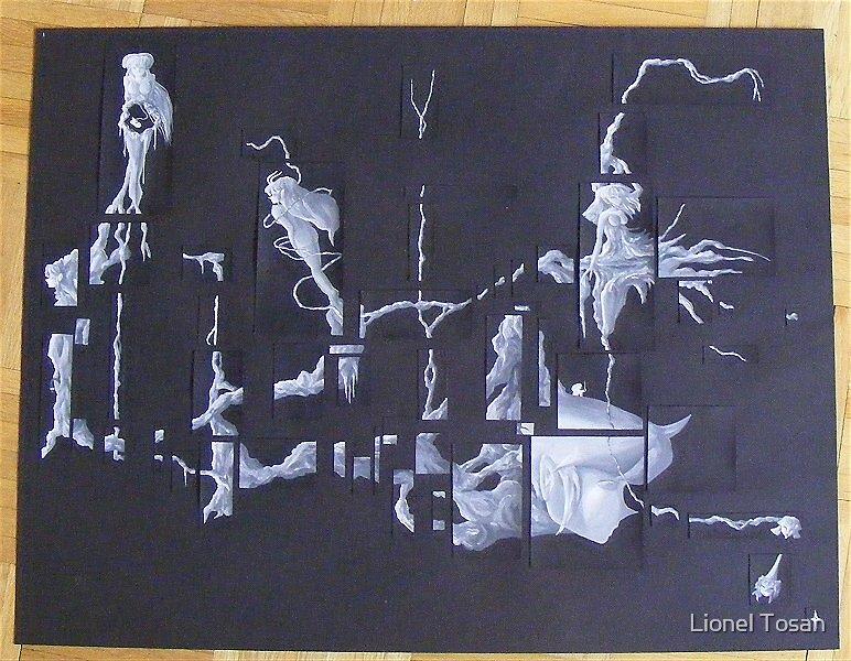 Non-connexe by Lionel Tosan