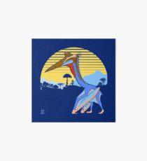 Pterosaur Sunset (Dark Version) Art Board