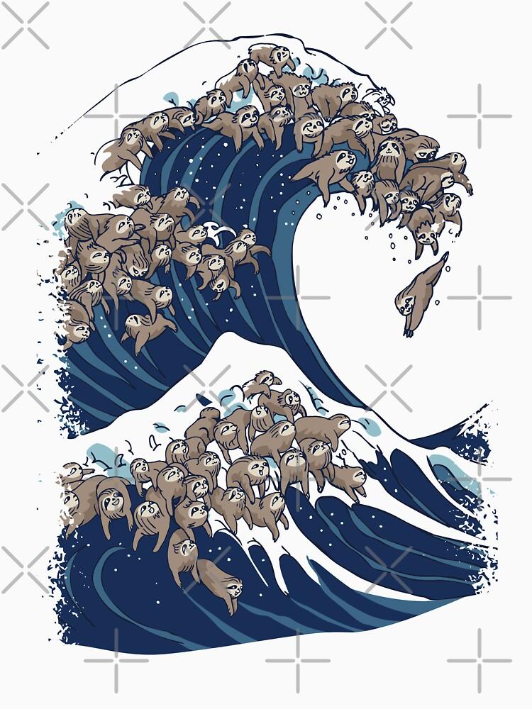 Die große Welle der Trägheit von Huebucket