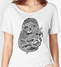 Camiseta ancha Sloth polinesia