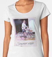 Elio Polaroid 1983 Women's Premium T-Shirt