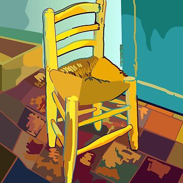 Chair, homage to Vincent van Gogh by iopan