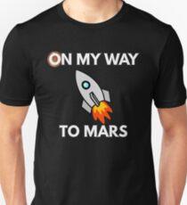 Auf meinem Weg zum Mars Unisex T-Shirt