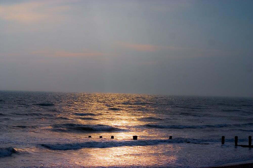 The Sea at Felpham by Greg Roberts