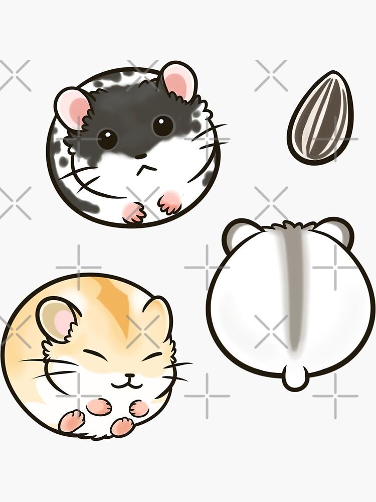 Dwarf Hamsters set 1 by pawlove