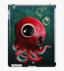 Cute Octopus in Deep Sea iPad Case/Skin