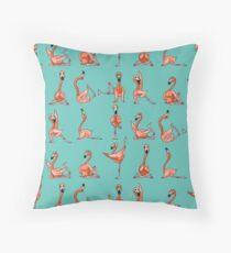 Flamingo Yoga Dekokissen