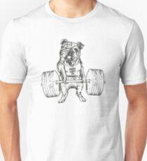 English Bulldog Lift Unisex T-Shirt