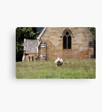The Lord is My Shepherd Canvas Print