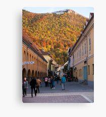 Autumn in Brasov Canvas Print