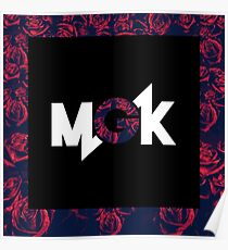 Mgk x roses Poster
