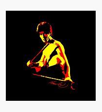 70's Bruce Lee Pop Art Photographic Print