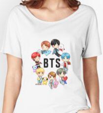 BTS DNA X BT21  Women's Relaxed Fit T-Shirt