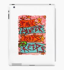 Paul Panfer Plays for Keeps iPad Case/Skin