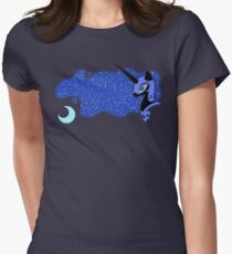 Nightmare Moon Fitted T-Shirt