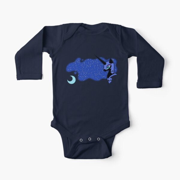 Nightmare Moon Long Sleeve Baby One-Piece