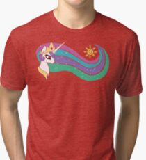 Princess Celestia Tri-blend T-Shirt