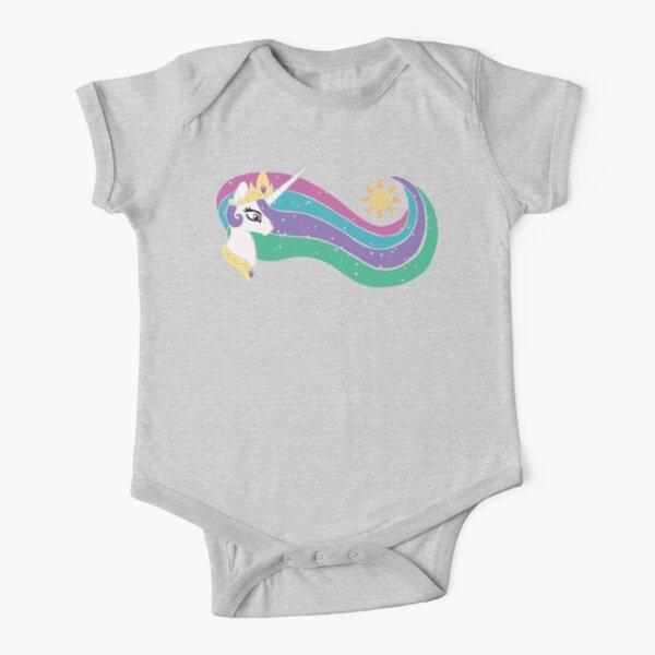 Princess Celestia Short Sleeve Baby One-Piece