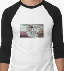 Cool Geometric Design Men's Baseball ¾ T-Shirt
