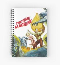 Machine à remonter le temps - time machine  Spiral Notebook