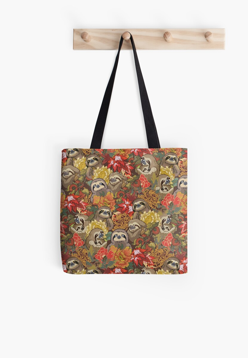Because Sloths Autumn Tote Bag