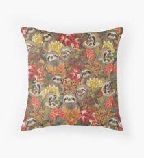 Because Sloths Autumn Floor Pillow