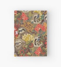 Because Sloths Autumn Hardcover Journal