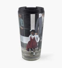 Ruby Bridges, escorted by U.S. Marshals to attend an all-white school, 1960 Travel Mug