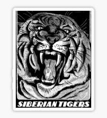 Siberian Tiger Sticker