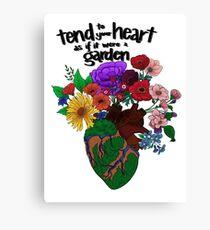 Garden Heart Canvas Print