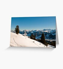 winter scenics Greeting Card