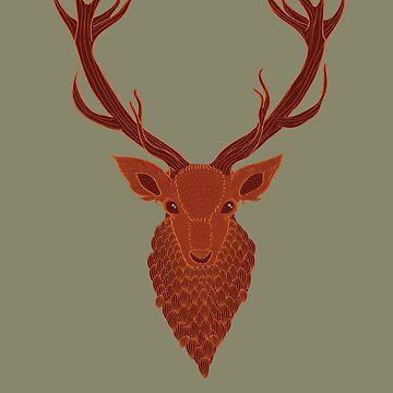 Deer by bubivisualarts