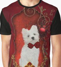 Cute little maltese puppy Graphic T-Shirt