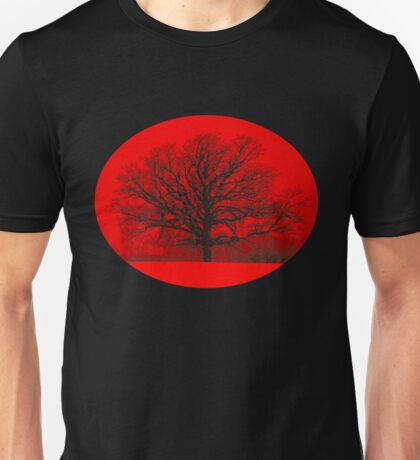 Red Snow Tree T T-Shirt