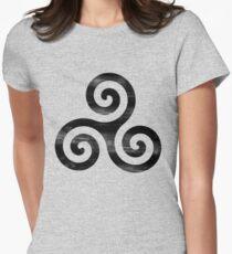Derek Hale tatt Women's Fitted T-Shirt