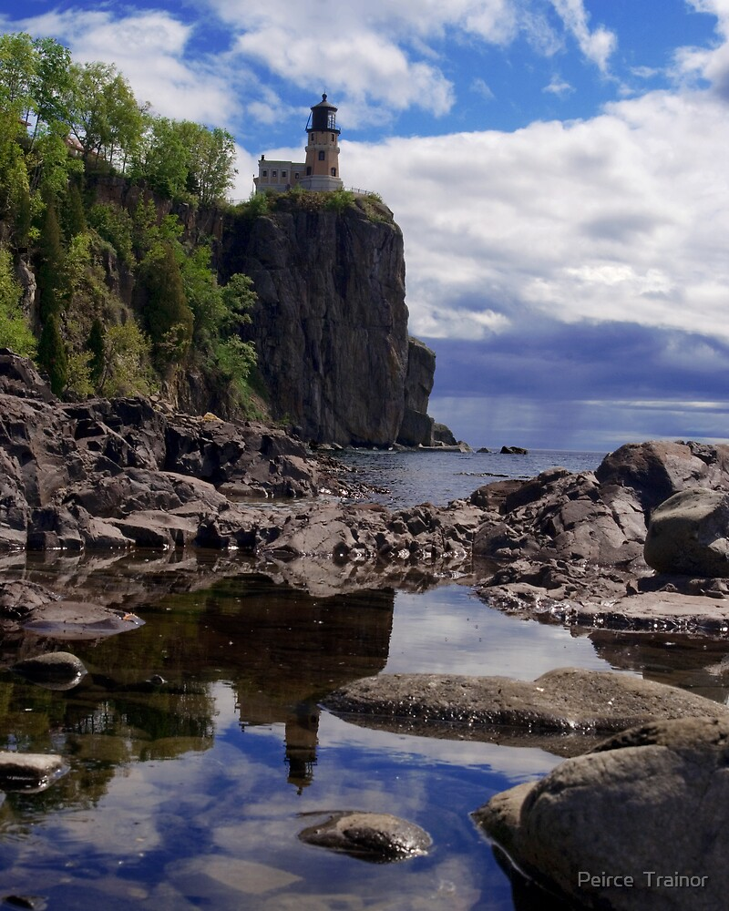 Splitrock Lighthouse 2 by Peirce  Trainor