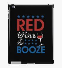Red Wine & Booze  iPad Case/Skin