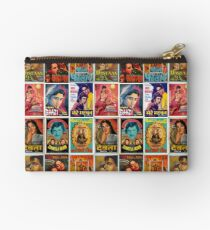 Vintage Bollywood Pattern Studio Pouch