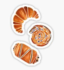 French Pastry Collection Sticker