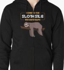Come To The Sloth Side - Funny Sloth Pun Gift Kapuzenjacke