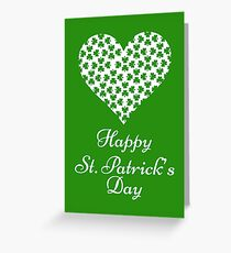 Happy Saint Patrick's Day !!! Greeting Card