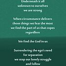 We are strong Poem by Katherine T Owen, Author