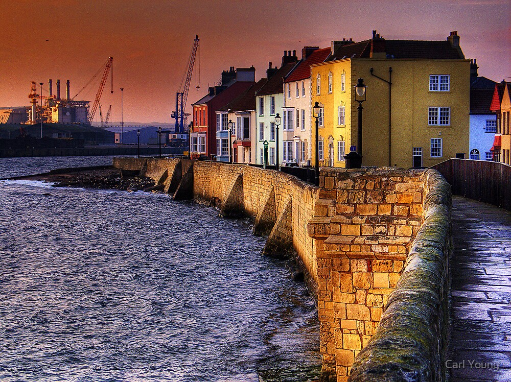 The Headland, Hartlepool by Carl Young