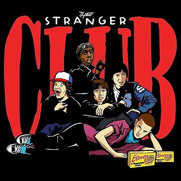 The Stranger Club   Stranger Things by PaulyH
